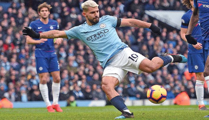 Man City hit Chelsea for six