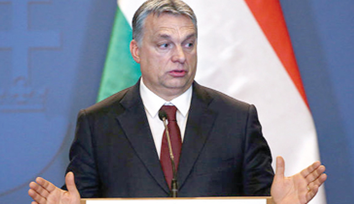 Hungary PM vows defence  of 'Christian'  Europe