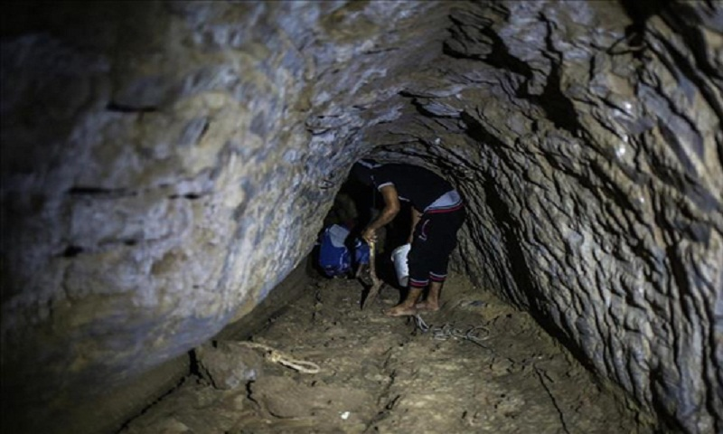 Two Gazans die in Egypt border tunnel: Hamas ministry