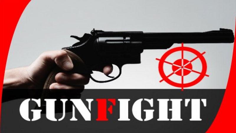 'Robber' killed in city 'gunfight'