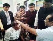 Free Eye care campaign held at Chandanaish
