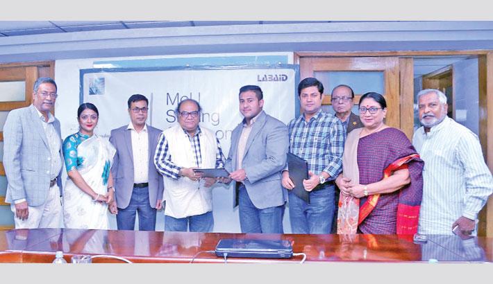 Labaid, Ovinoy Shilpi Songho sign deal