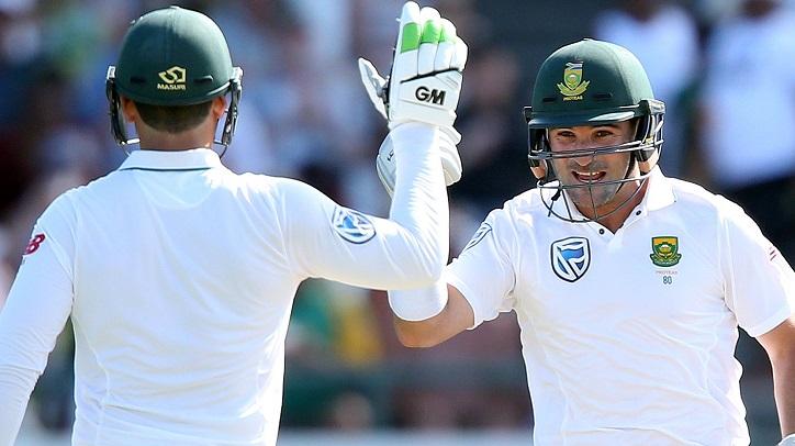South Africa 181-7 at tea against Sri Lanka
