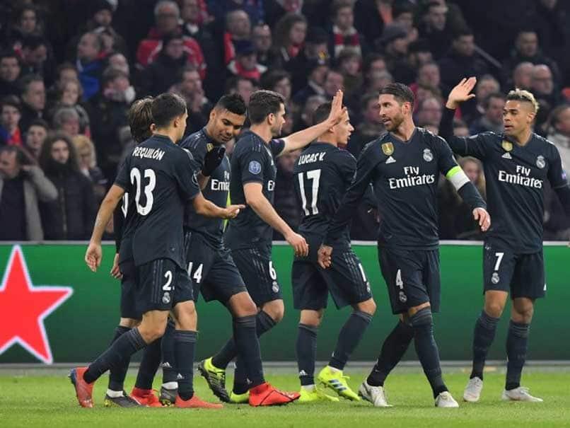 Real Madrid beat Ajax in Champions League last 16, first leg