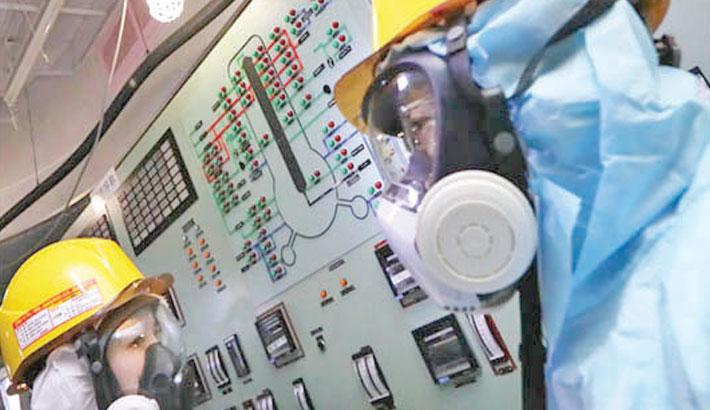 Robot probes radioactive fuel at Japan's Fukushima plant