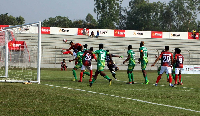 Bashundhara Kings maintain all-win record in BPL Football