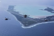 US bases under threat from climate change, top admiral confirms