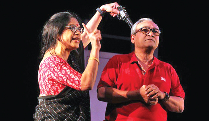 Bangladeshi Theatre Troupes Passing Busy Time In India