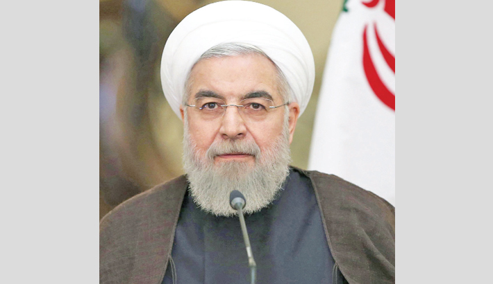 Rouhani vows  revenge on  'mercenaries'  behind suicide  attack