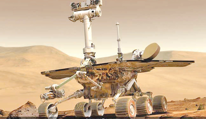 NASA announces demise  of Opportunity rover
