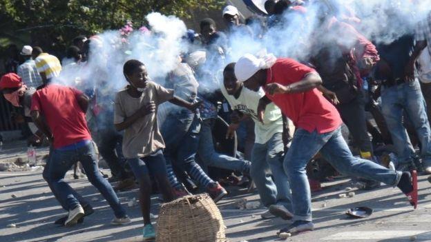 Haiti President Jovenel Moise refuses to leave