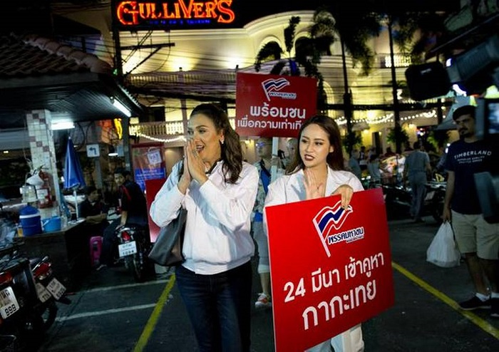 Thai party fields transgender candidate for prime minister