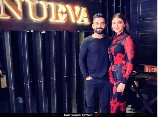 Kohli's Valentine's Day Post With Anushka