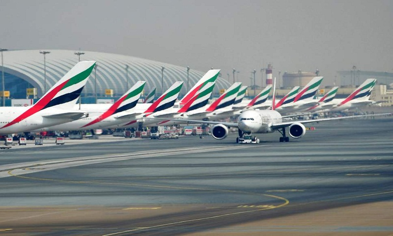 Dubai airport briefly halts flights over drone sighting