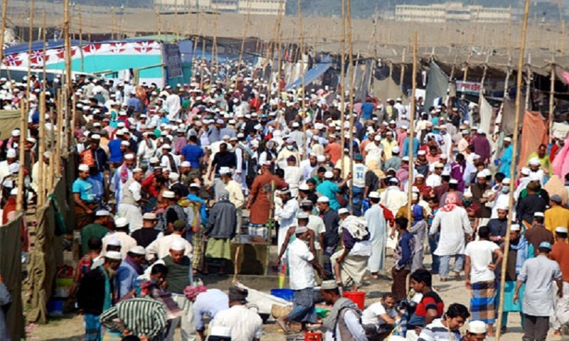 Biswa Ijtema begins with 'Aam Bayan'