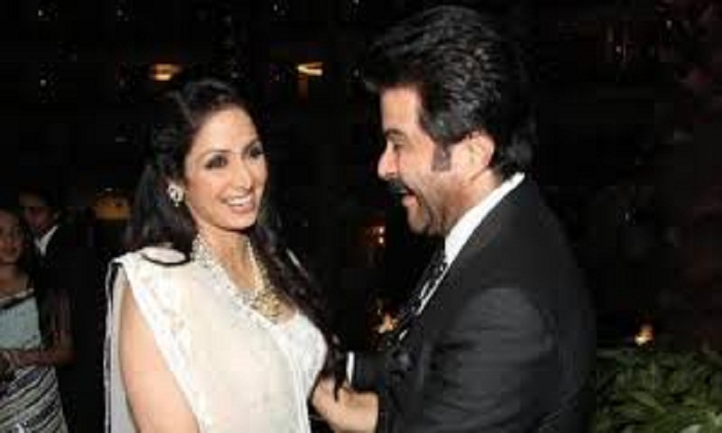 Anil Kapoor remembers Sridevi on death anniversary