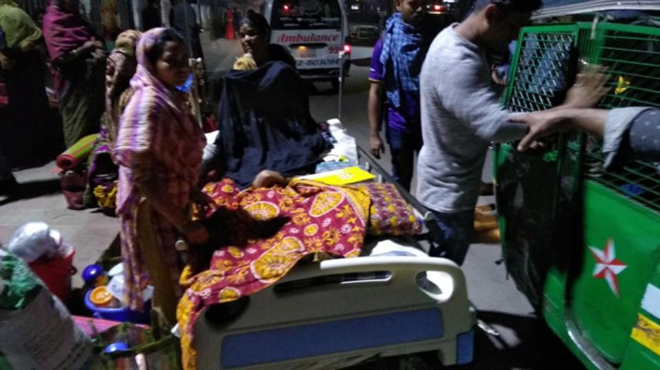Child patient dies after fire at Suhrawardy Hospital