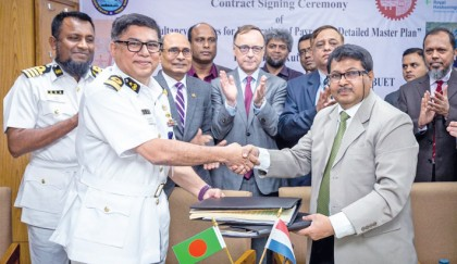 Payra Port Authority (PPA) on Thursday signed an agreement