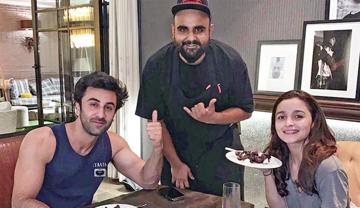 Ranbir, Alia enjoy quiet dinner  on Valentine's Day