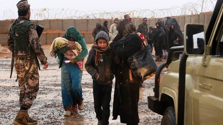 2 humanitarian corridors to open for displaced Syrians in Rukban camp