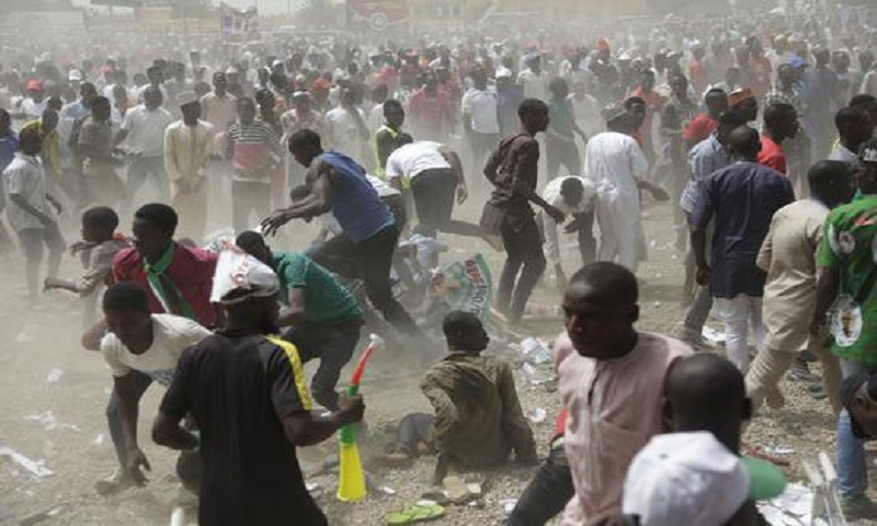 66 killed in Nigerian state before presidential election