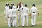 South Africa ahead against Sri Lanka after burst of wickets