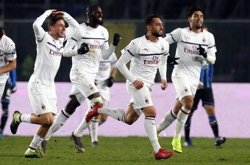Piatek scores 2 as Milan beats Atalanta 3-1 in Serie A