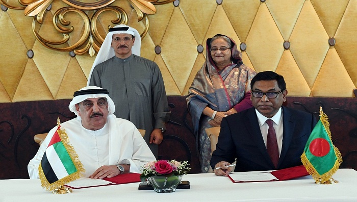 Bangladesh, UAE sign four MoUs on large projects