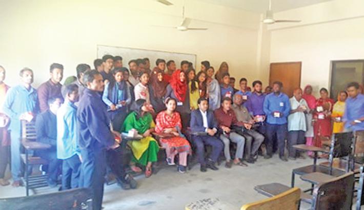 Humanity glorifies  Valentine's Day celebration  at BGC Trust University