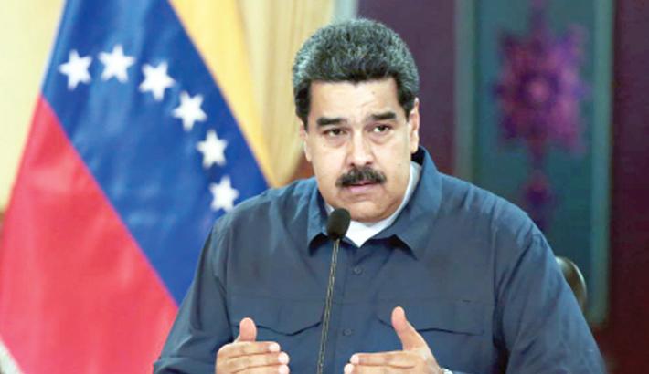 Maduro blasts US
