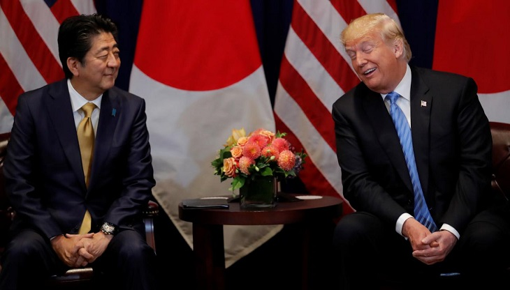 Japan PM nominated Trump for Nobel after US request: report