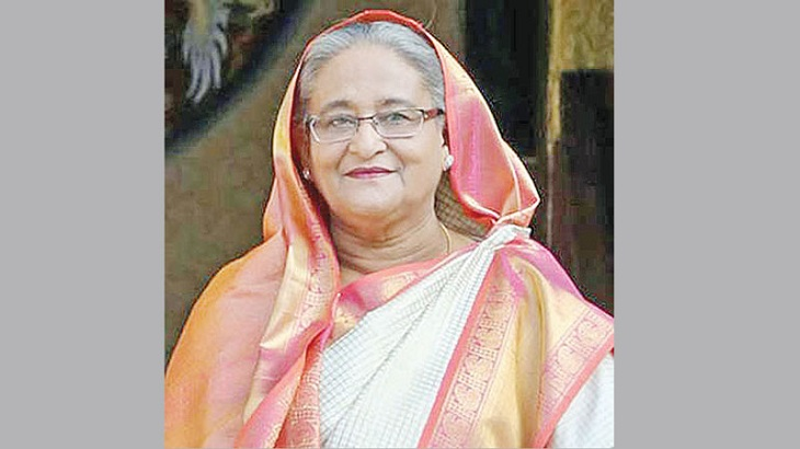 Prime Minister Hasina visits Int'l Defence Exhibition in UAE