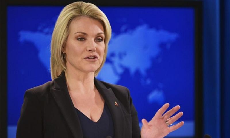 Heather Nauert withdraws bid to be US envoy to UN