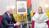 Veridos CEO Hans Wolfgang Kunz meets Prime Minister Sheikh Hasina
