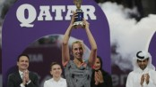 Mertens upsets Halep in Qatar Open final for biggest title