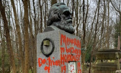 Karl Marx: Monument vandalised for second time in two weeks in London