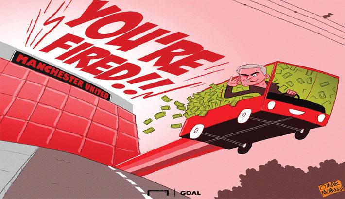 United Sacking Mourinho Cost £19.6m