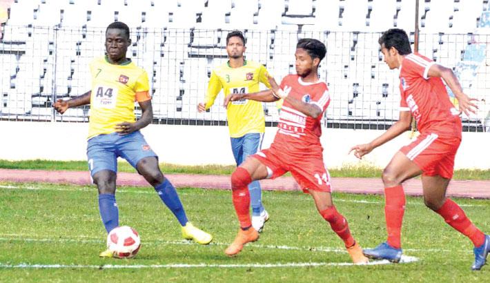 Sk Russel, Sk Jamal derby ends in draw