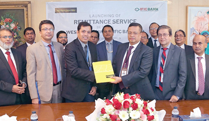 IFIC Bank signs deal with Western Union Services