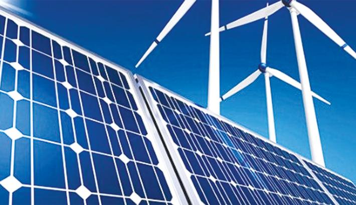 Solar-powered super capacitor