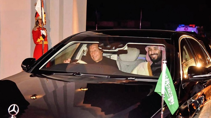 Pakistan to honour Saudi crown prince after $20bn deals
