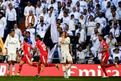 Blow for Madrid's title hopes as Girona inflict shock defeat