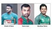 Shakib, Tamim, Mushfiq to miss DPL