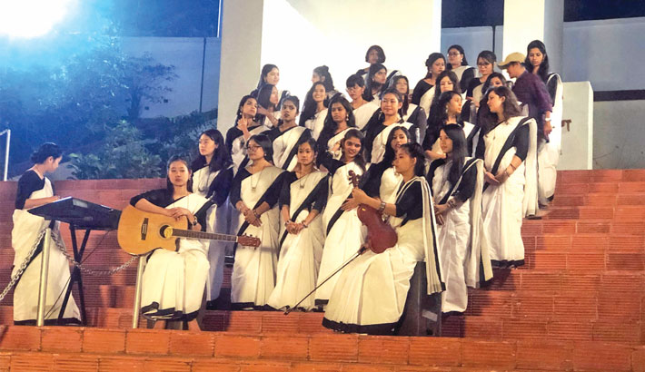 Students of 16 countries to render 21st February song
