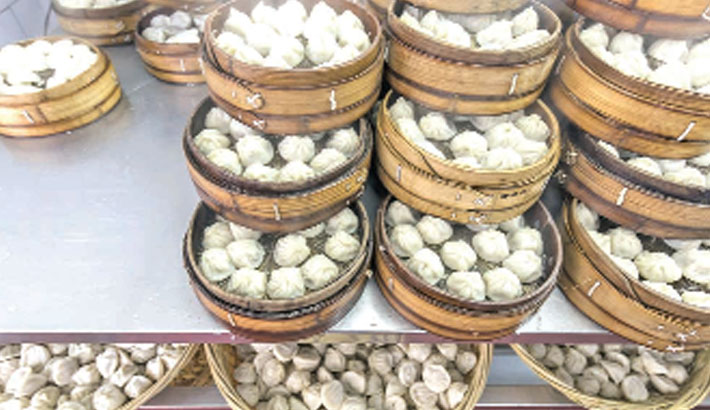 Chinese food producer says swine fever found in dumplings