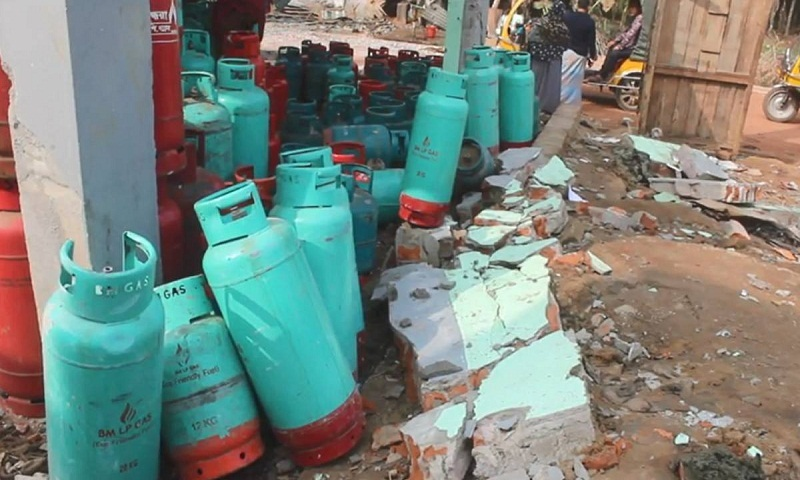 7 injured in Khagrachhari gas cylinder blast