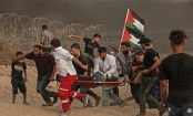 19 Palestinians and Israeli soldier wounded in Gaza clashes