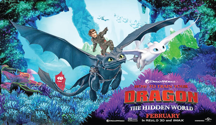 How to Train Your Dragon: The Hidden World to hit Blockbuster Cinemas
