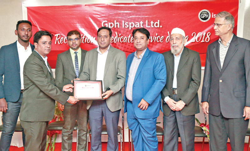 GPH dedicated employees get award