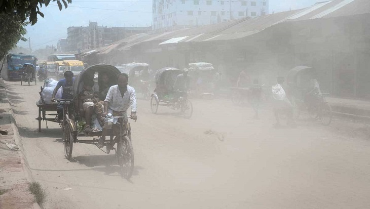 Dhaka ranks 5th worst on air quality